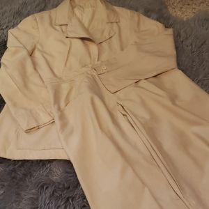 VINTAGE Towncliffe 100% Pure Pongee Silk Suit 💖